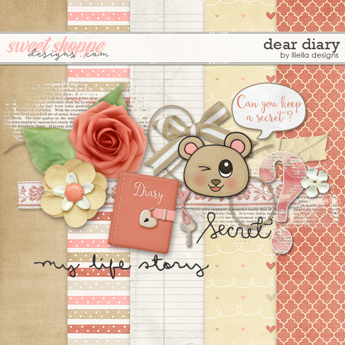 Dear Diary by lliella designs