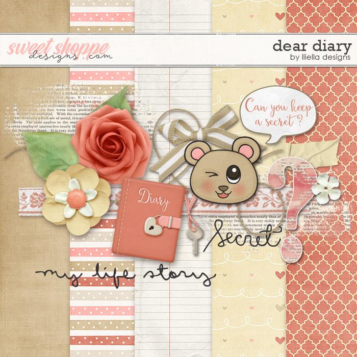 Dear Diary by lliella designs