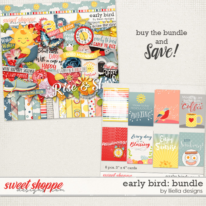 Early Bird: Bundle by lliella designs