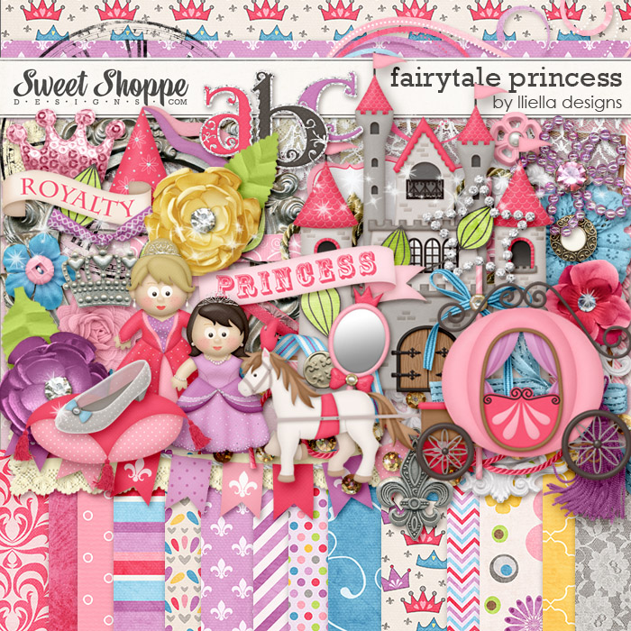 Fairytale Princess by lliella designs