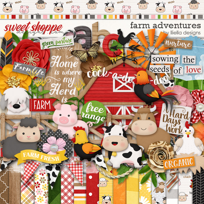 Farm Adventures by lliella designs