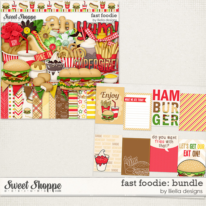 Fast Foodie: Bundle by lliella designs