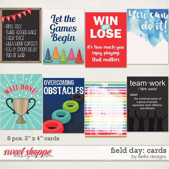 Field Day: Cards by lliella designs