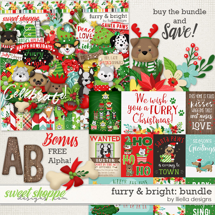 Furry & Bright Bundle by lliella designs