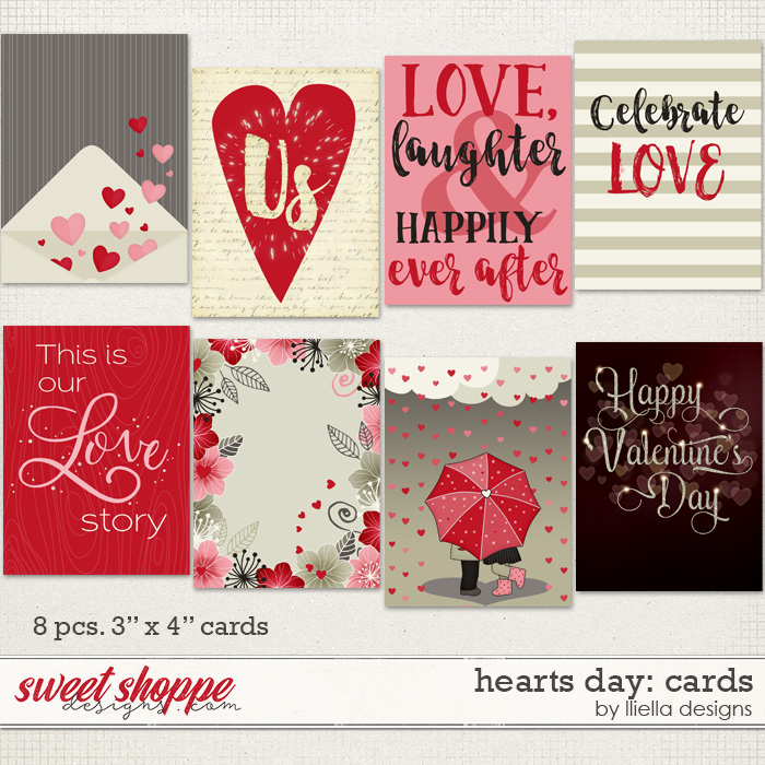 Hearts Day: Cards by lliella designs