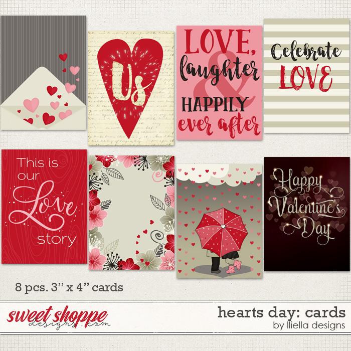 Hearts Day: Cards by lliella designs