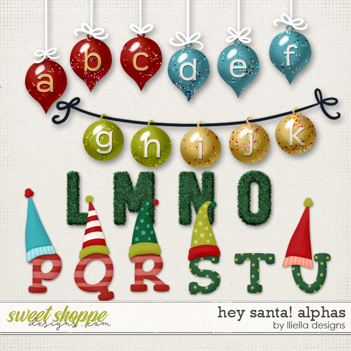 Hey Santa! Alphas by lliella designs