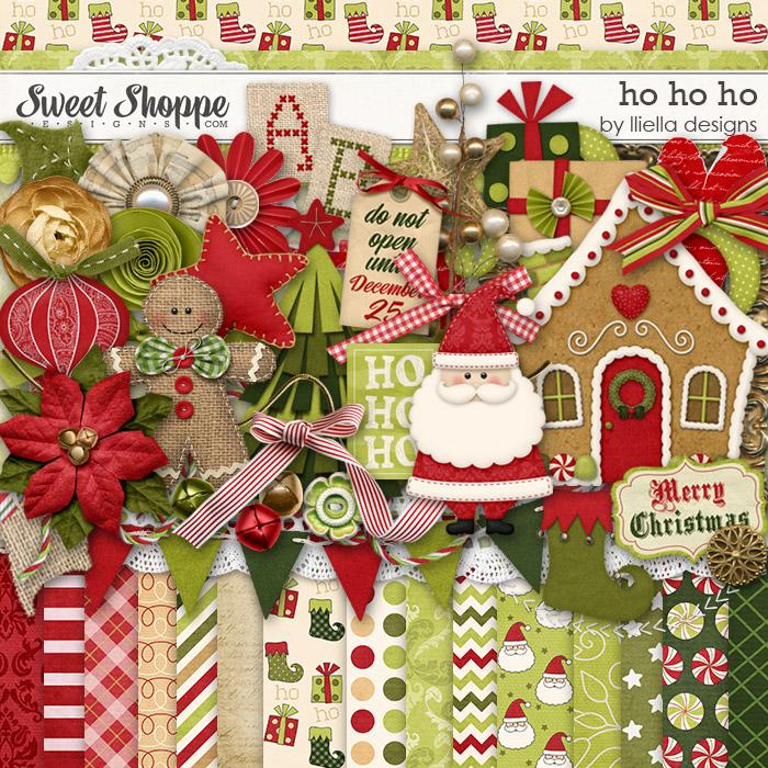 Ho Ho Ho by lliella designs