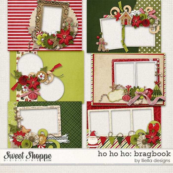 Ho Ho Ho: Bragbook by lliella designs