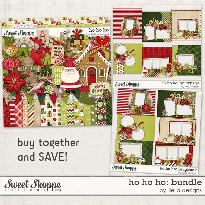 Ho Ho Ho: Bundle by lliella designs