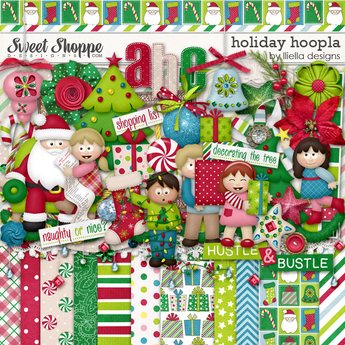 Holiday Hoopla by lliella designs
