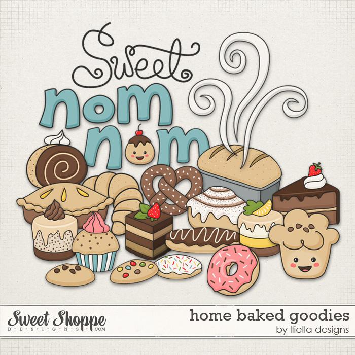 Home Baked Goodies by lliella designs