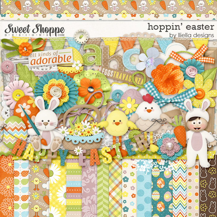 Hoppin' Easter by lliella designs