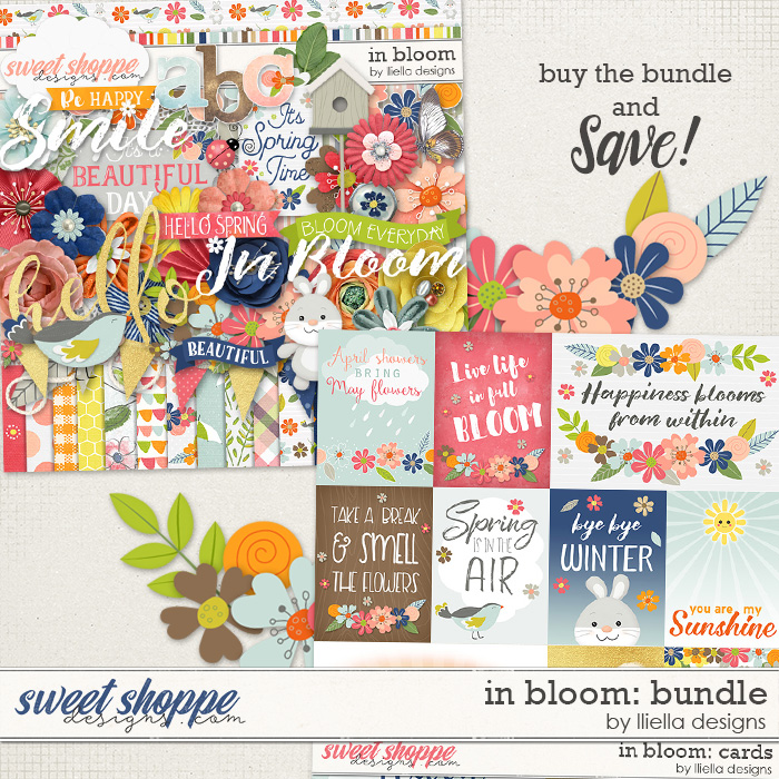 In Bloom: Bundle by lliella designs