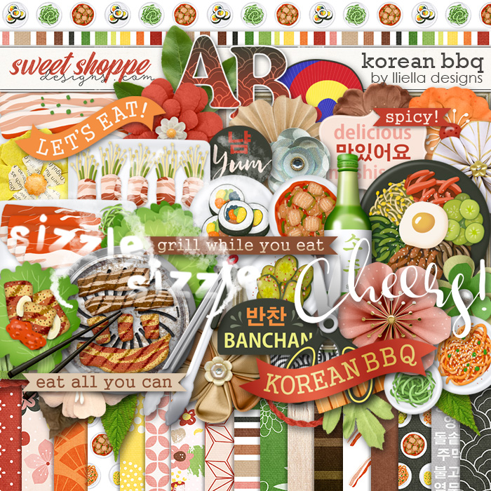 Korean BBQ by lliella designs