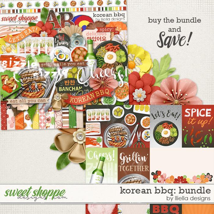 Korean BBQ Bundle by lliella designs