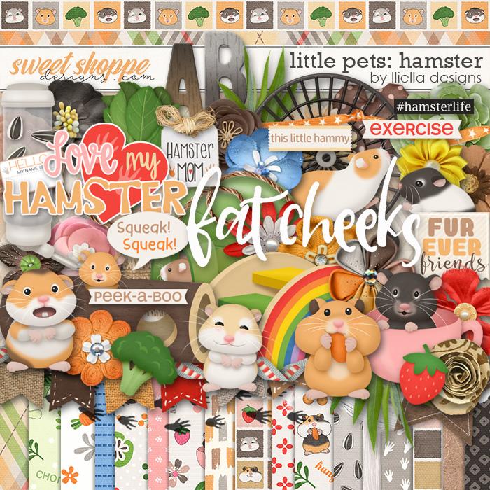 Little Pets Hamster by lliella designs