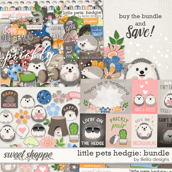 Little Pets Hedgie Bundle by lliella designs