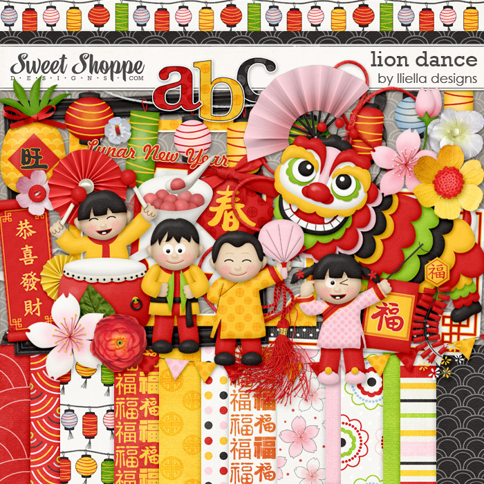 Lion Dance by lliella designs