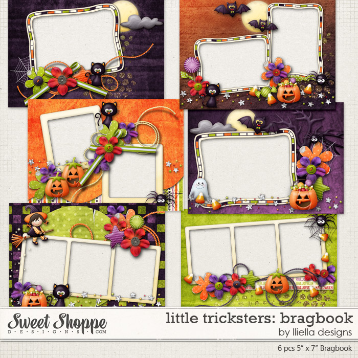 Little Tricksters: Bragbook by lliella designs