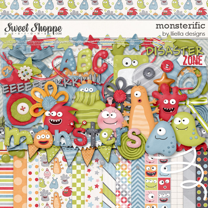 Monsterific by lliella designs