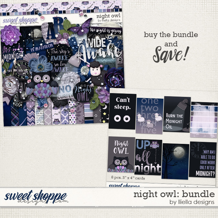 Night Owl: Bundle by lliella designs