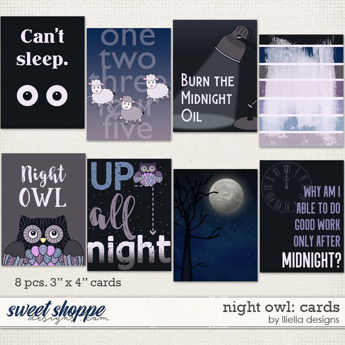 Night Owl: Cards by lliella designs