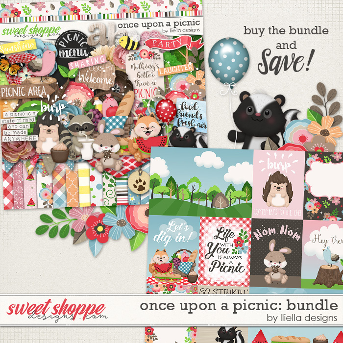 Once Upon A Picnic: Bundle by lliella designs