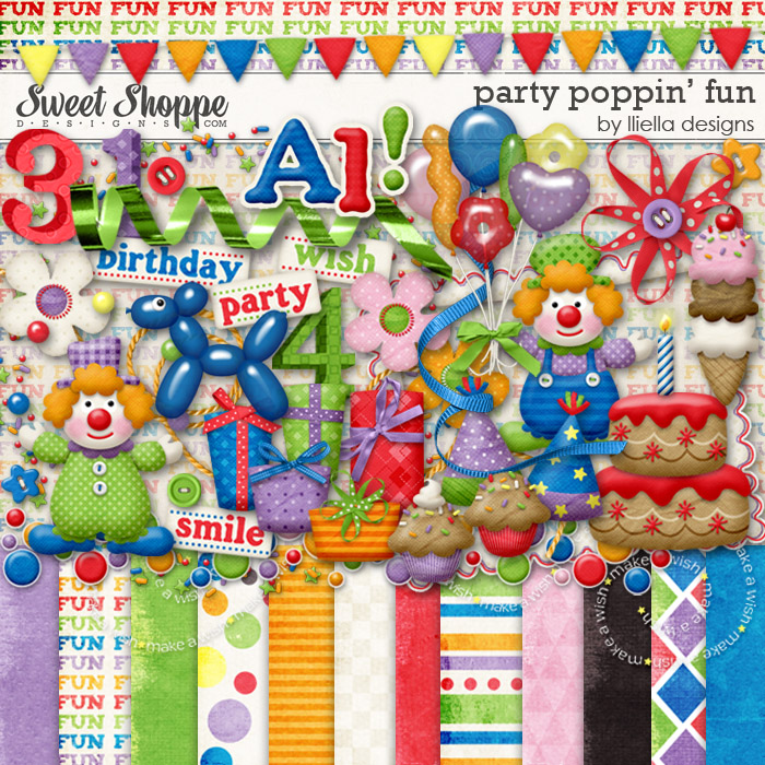Party Poppin' Fun by lliella designs