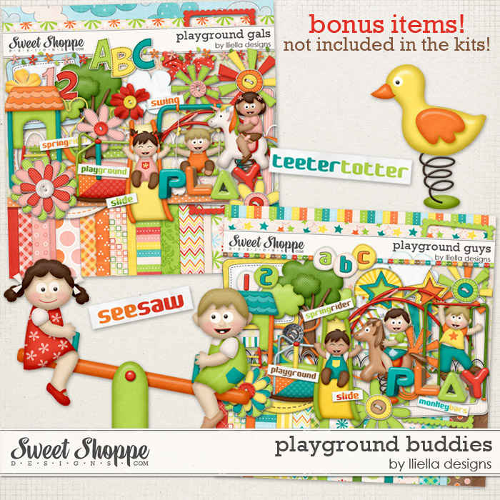 Playground Buddies by lliella designs
