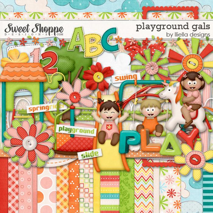 Playground Gals by lliella designs