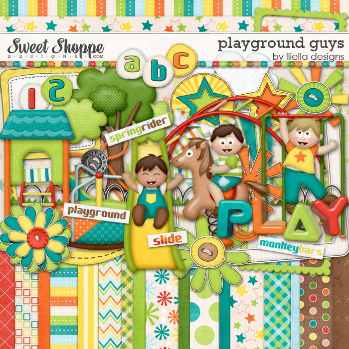 Playground Guys by lliella designs