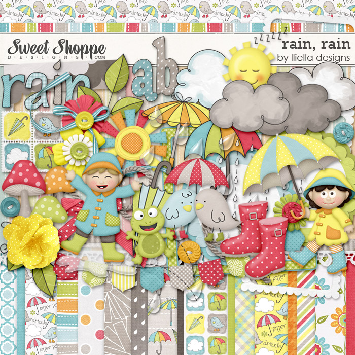Rain, Rain by lliella designs