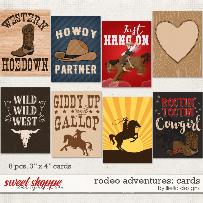 Rodeo Adventures: Cards by lliella designs