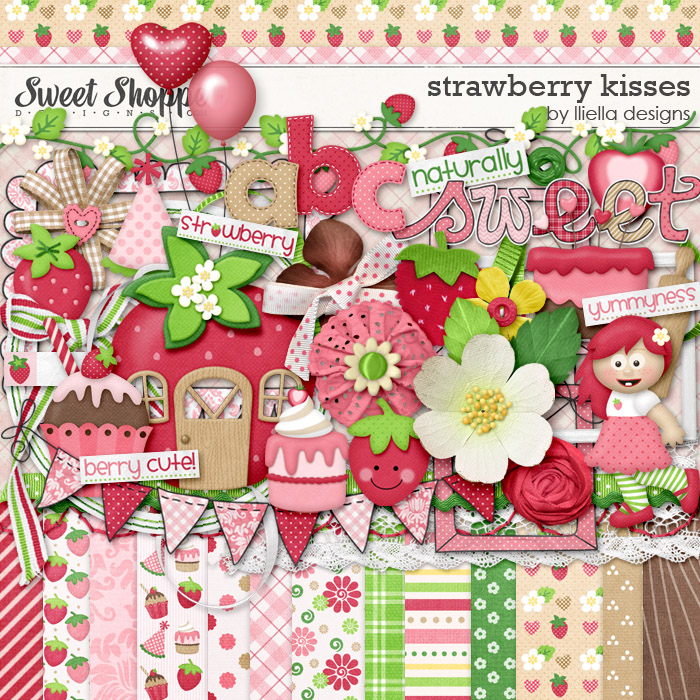 Strawberry Kisses by Lliella Designs