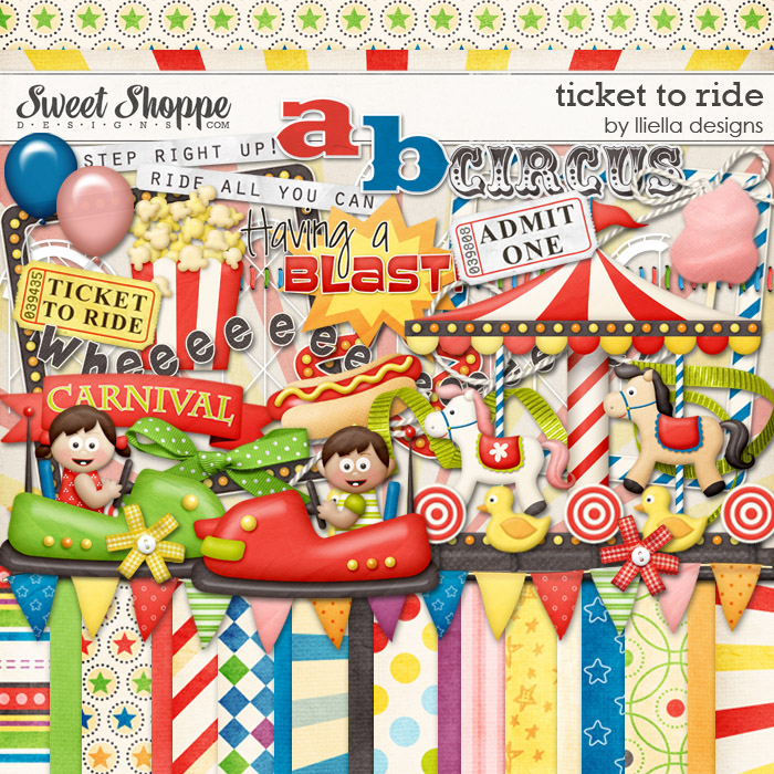 Ticket to Ride by lliella designs