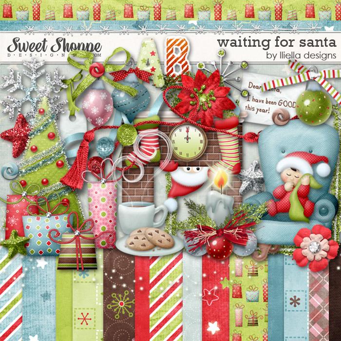 Waiting For Santa by lliella designs