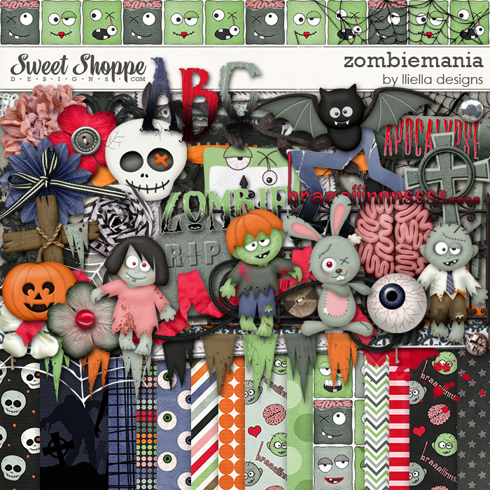 Zombiemania by lliella designs