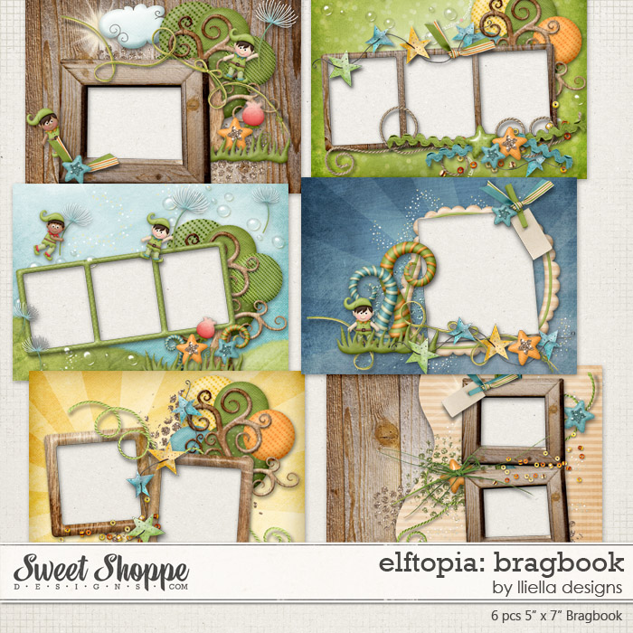 Elftopia: Bragbook by lliella designs