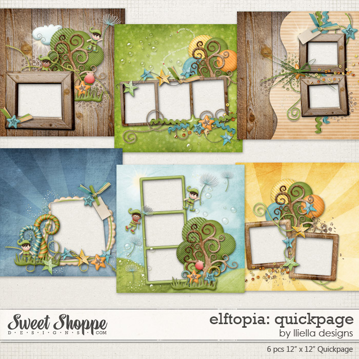 Elftopia: Quickpage by lliella designs