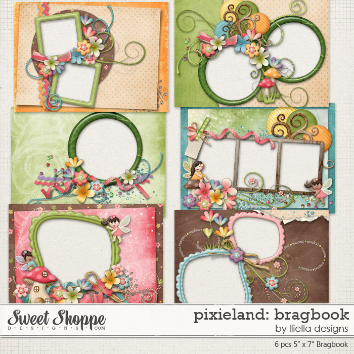 Pixieland: Bragbook by lliella designs