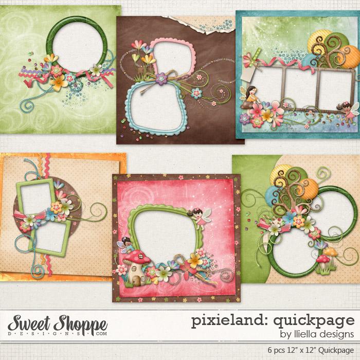Pixieland: Quickpage by lliella designs