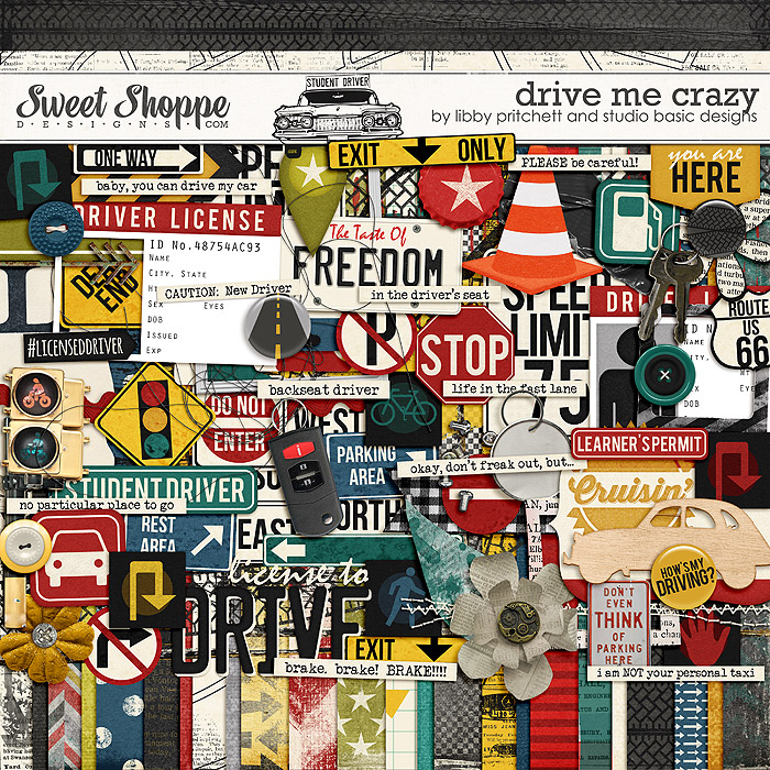 Drive Me Crazy by Libby Pritchett & Studio Basic Designs