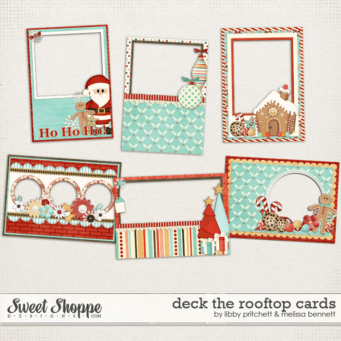 Deck The Rooftop Cards by Melissa Bennett & Libby Pritchett