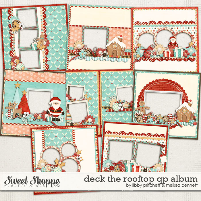 Deck The Rooftop Quick Page Album by Melissa Bennett & Libby Pritchett