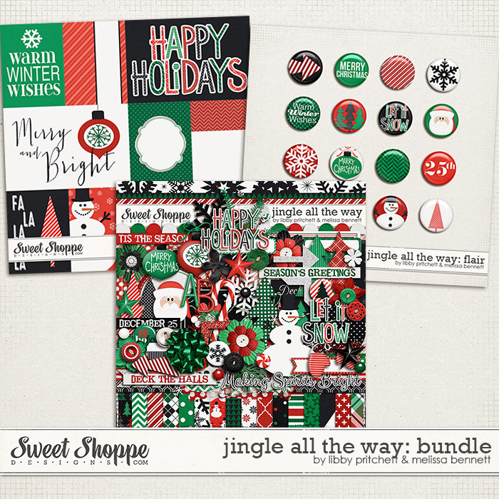 Jingle All The Way Bundle by Libby Pritchett & Melissa Bennett
