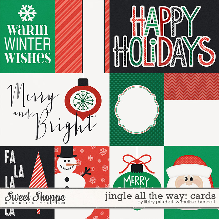 Jingle All The Way Cards by Libby Pritchett & Melissa Bennett