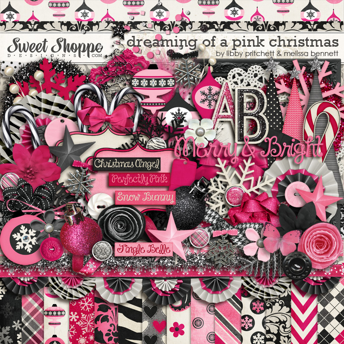 Dreaming Of A Pink Christmas by Melissa Bennett & Libby Pritchett