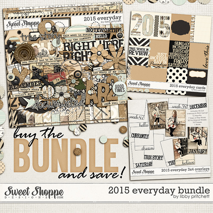 2015 Everyday Bundle by Libby Pritchett