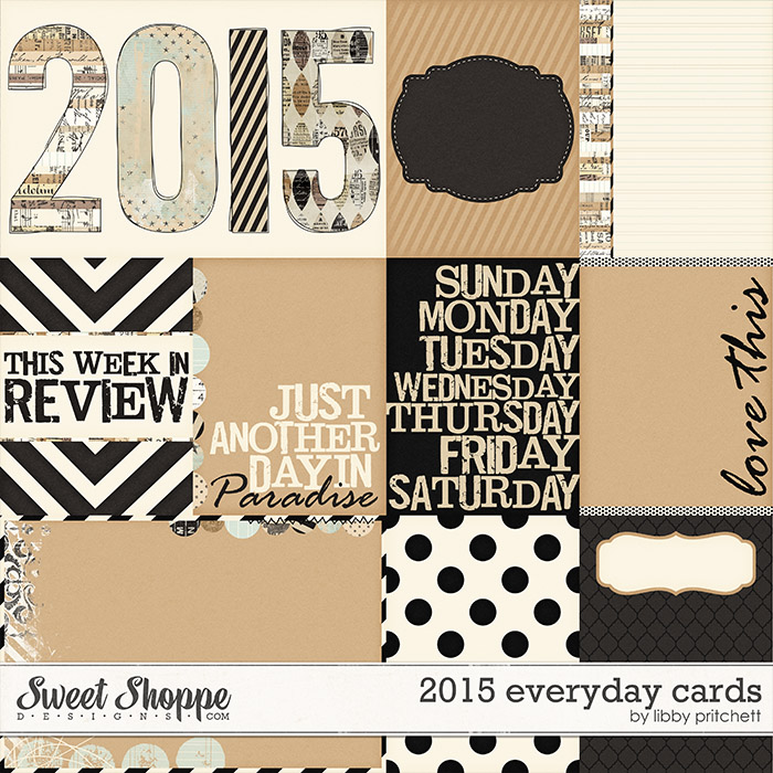 2015 Everyday Cards by Libby Pritchett